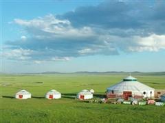 内蒙古乌兰浩特进行第三届冰雪观光节
